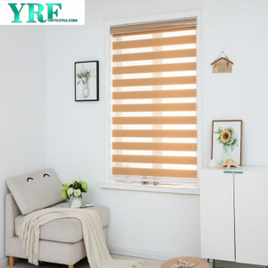 Zebra tende orizzontali Finestra Di Shade Blinds Window Cut a Dimensione Khaki Tende