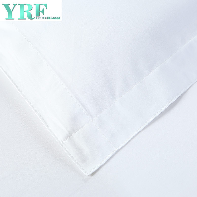 Durevole 100% Cotton Stripe ricamo Villa Hotel letto di Re Con Logo